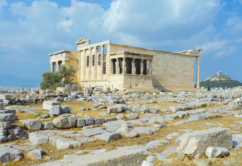 ATHENES - LES CARIATHIDES