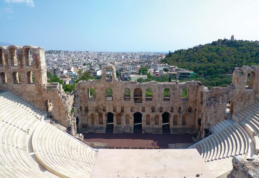 ATHENES - ODEON D'HERODE ATTICUS