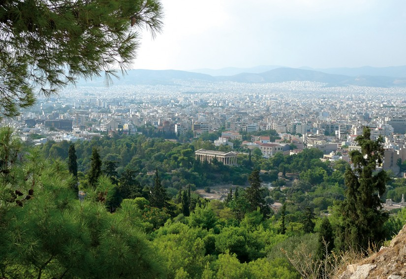 ATHENES - TEMPLE D'HEPHASTEION