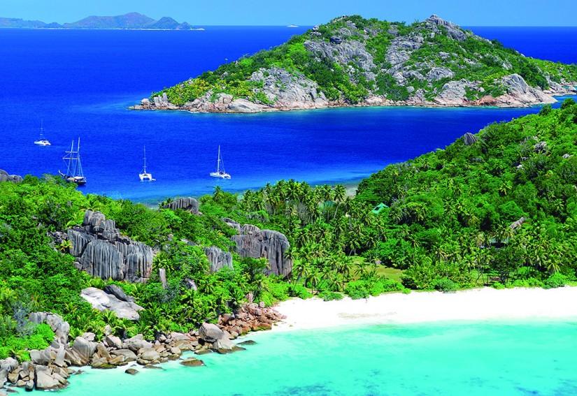 Les Seychelles - Ile Grande Soeur