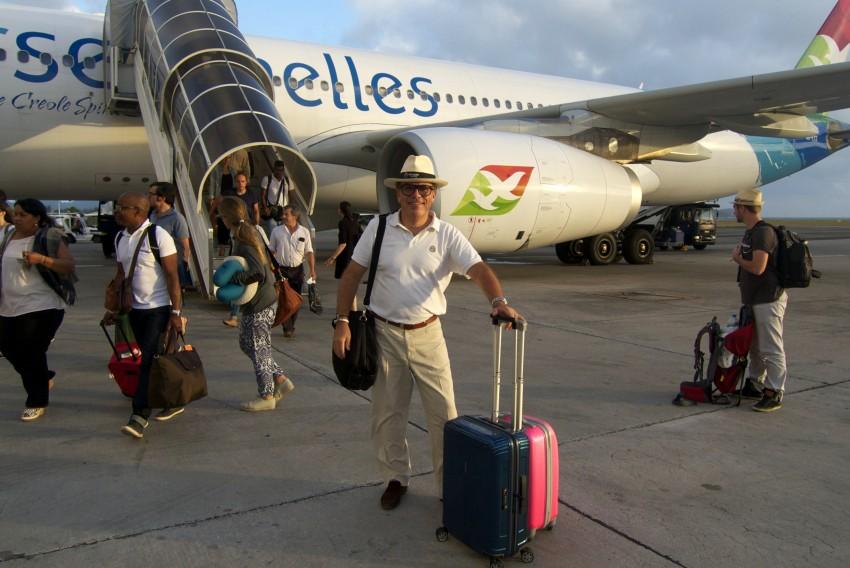 voyage de noces aux seychelles arrivée à mahé avec air seychelles vol direct paris mahé avec millemariages