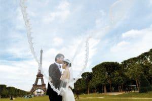 wedding romantic organisation in france