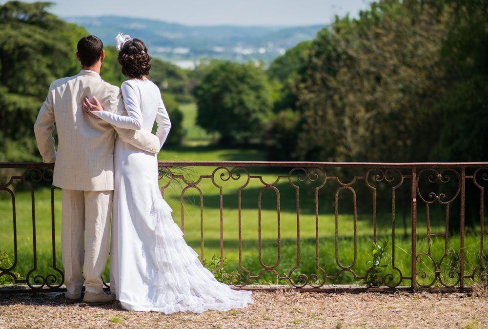 robe de mariée etoffes et silhouettes génaelle debarnnot pour millemariages