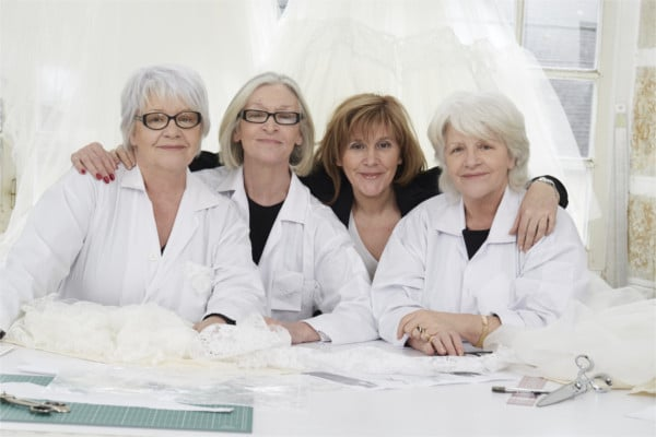 les trois soeurs de l'atelier emelia robe de mariée millemariages