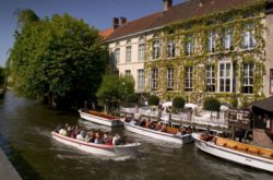 hotel de orangerie brugges blegique vue du canal millemariages