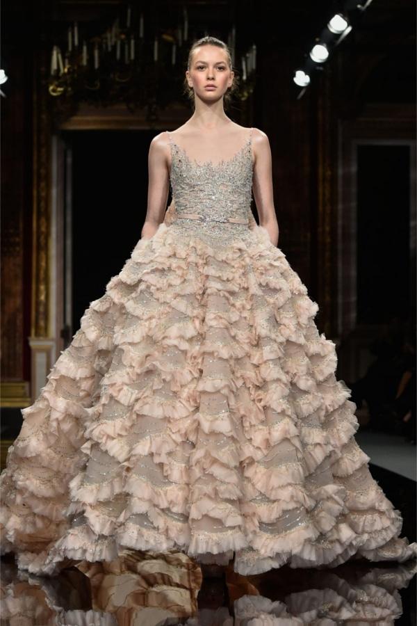 les plus belles robes de mari es haute couture collection printemps t 2017. Black Bedroom Furniture Sets. Home Design Ideas