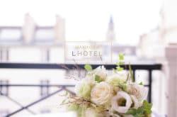 Mariage romantique à L'HOTEL – Paris