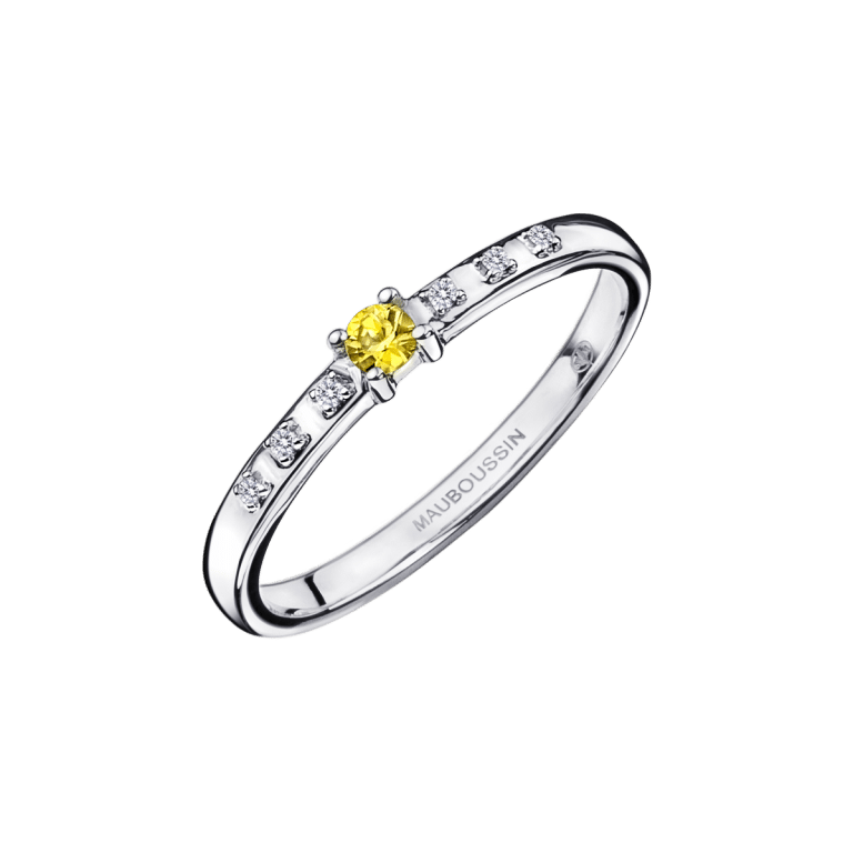 bague-mauboussin-Capsule d'émotions, saphir jaune et diamants-n12