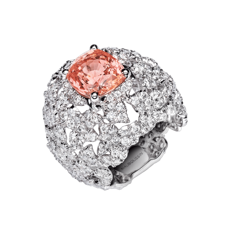 bague-mauboussin-tellement-sublime-mon-amour-or-blanc-diamants-saphir-rose-orange-n23
