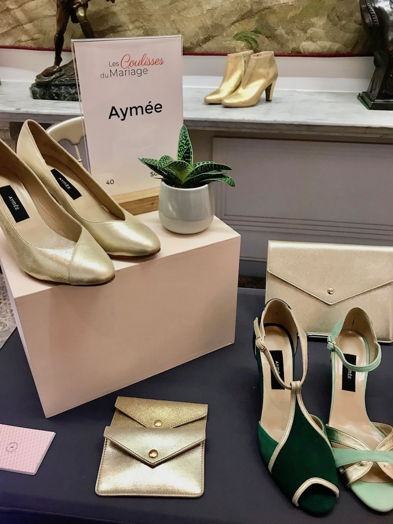 chaussures aymeé les coulisses du mariage maison des arts et métiers mille mariages