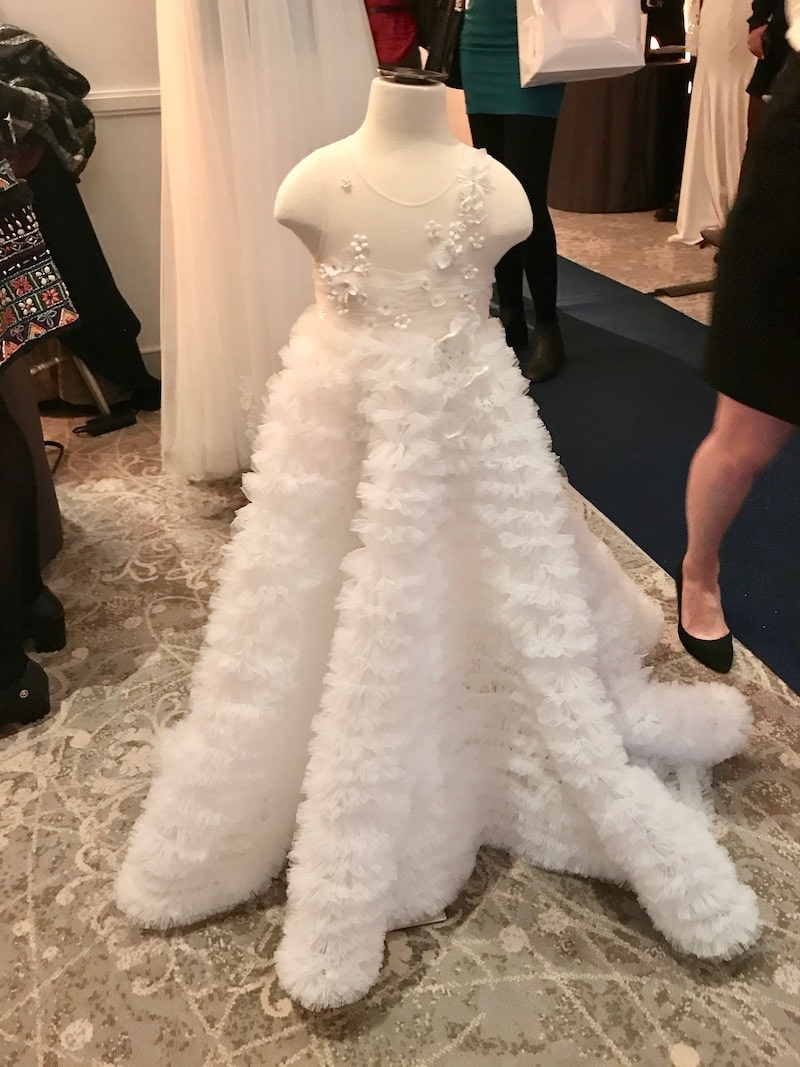 maryam namdar couture robe de cortège mille mariages
