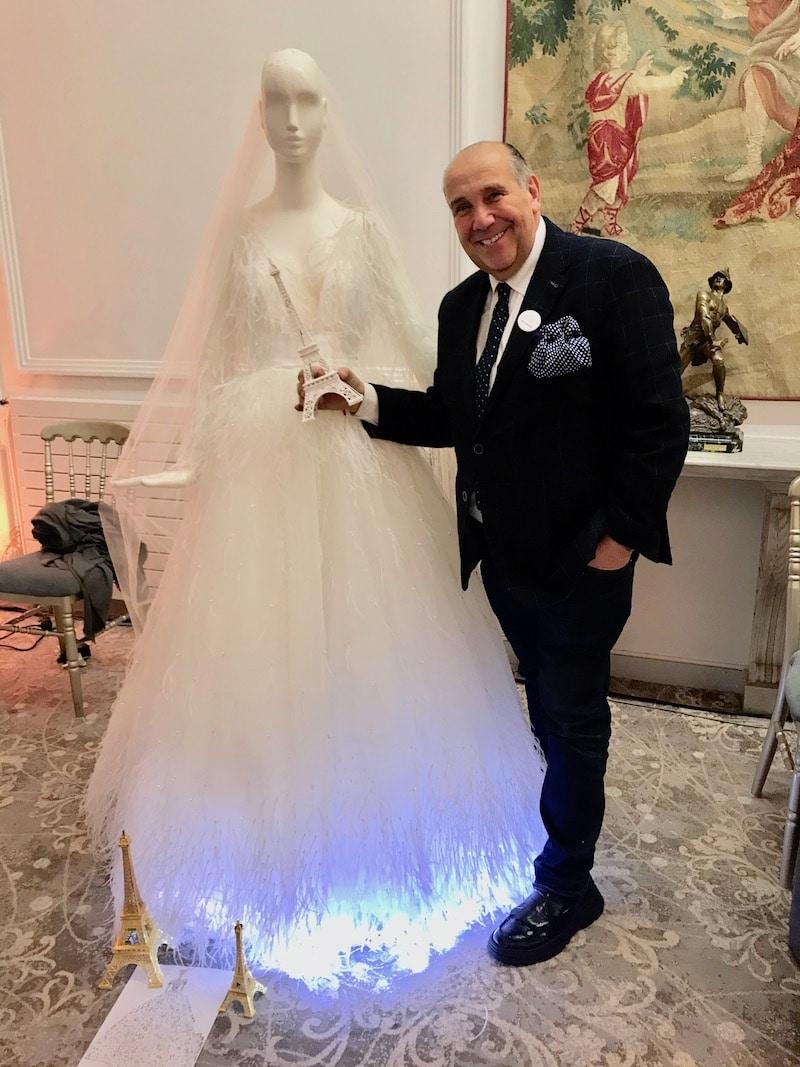 max chaoul paris couture les coulisses du mariage maison des arts et métiers mille mariages