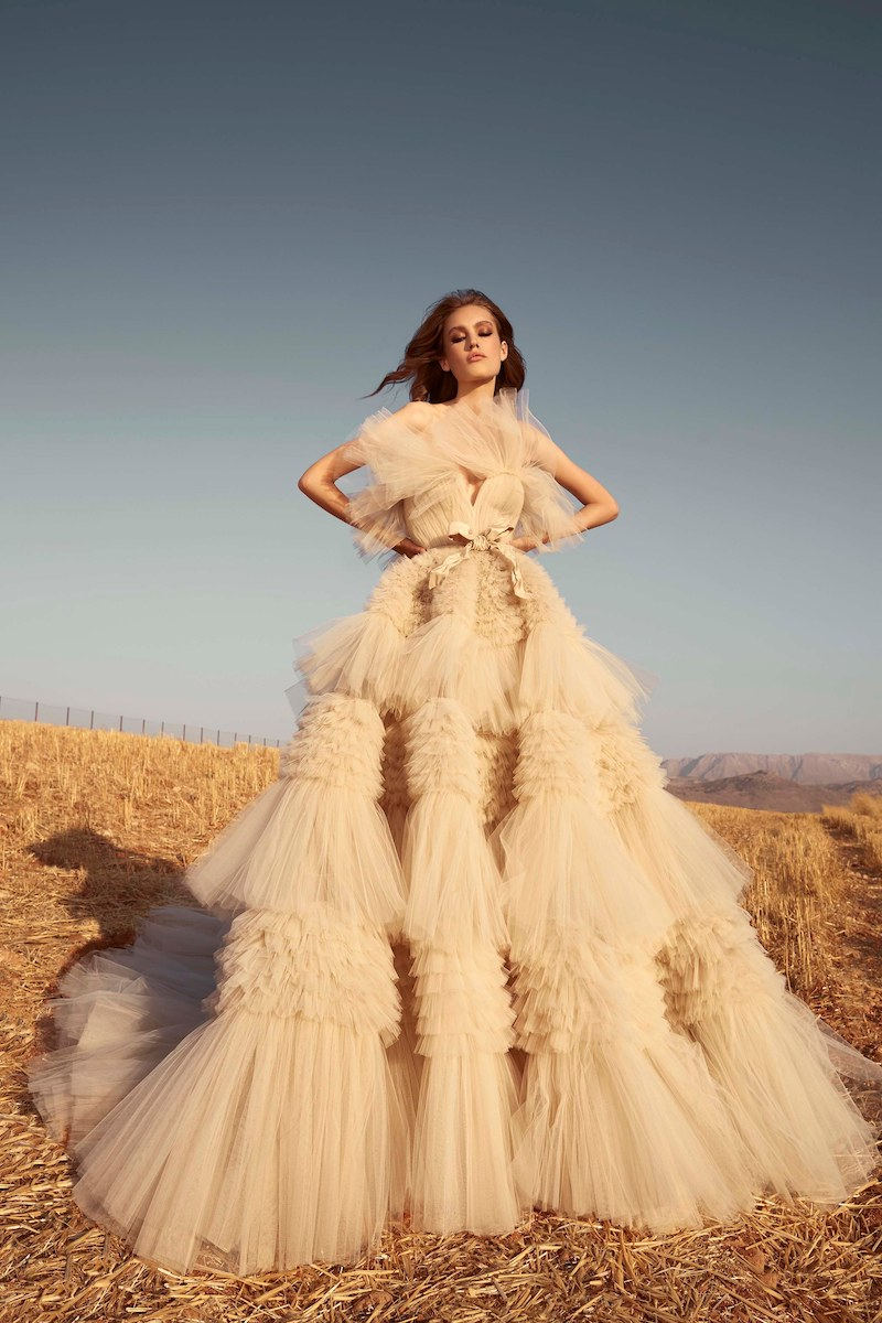 robe de mariée de zuhair murad collection automne 2020 pour mille mariages n°1