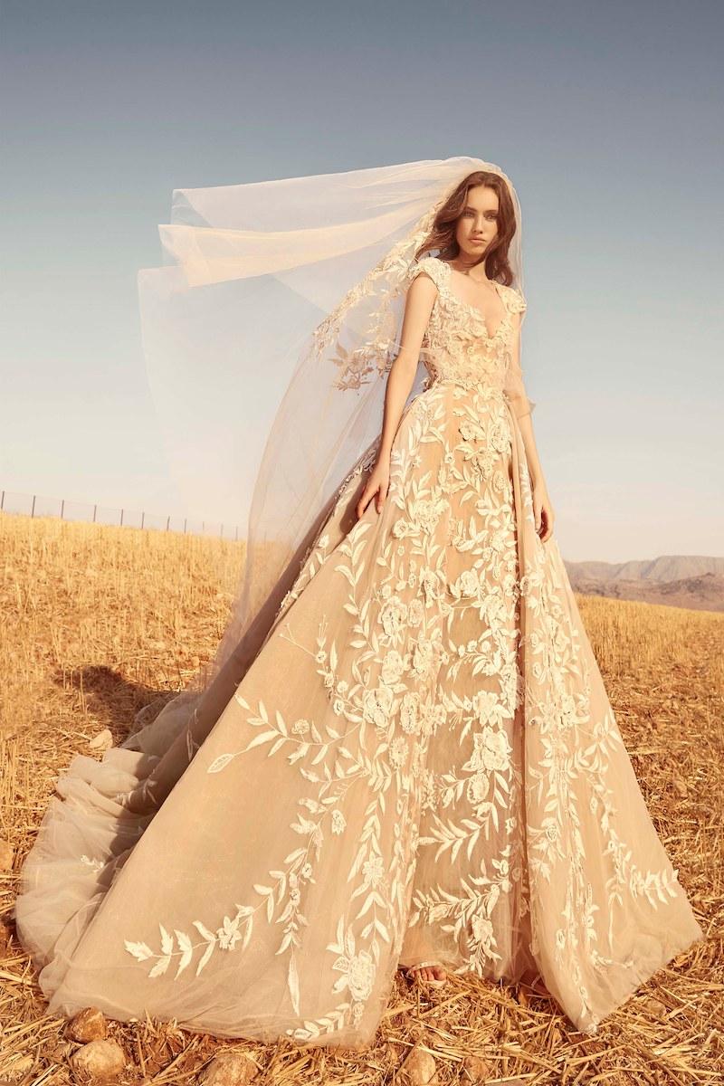 robe de mariée zuhair murad collection automne 2020 mille mariages n°10