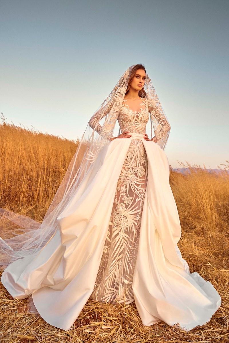 robe de mariée zuhair murad collection automne 2020 mille mariages n°13