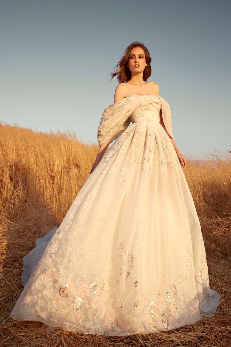 robe de mariée zuhair murad collection automne 2020 mille mariages n°14