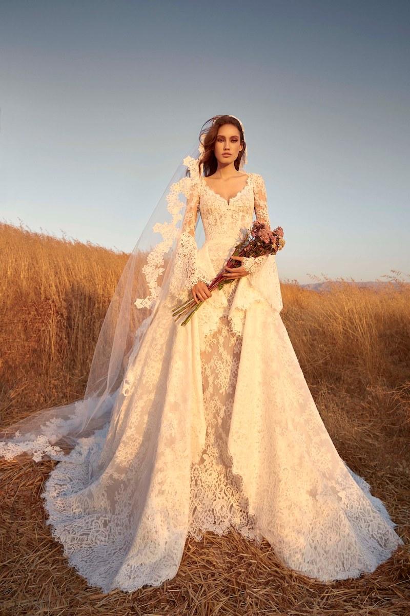 robe de mariée zuhair murad collection automne 2020 mille mariages n°16