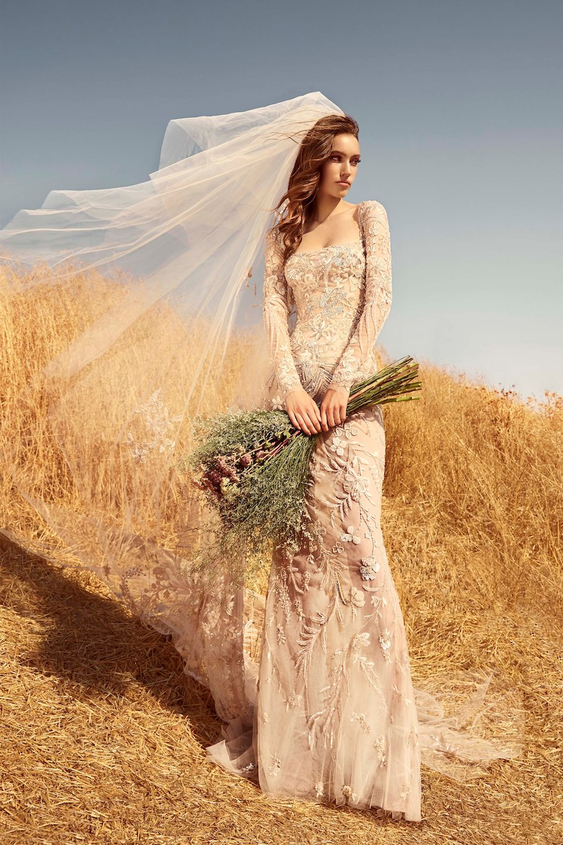robe de mariée zuhair murad collection automne 2020 mille mariages n°2