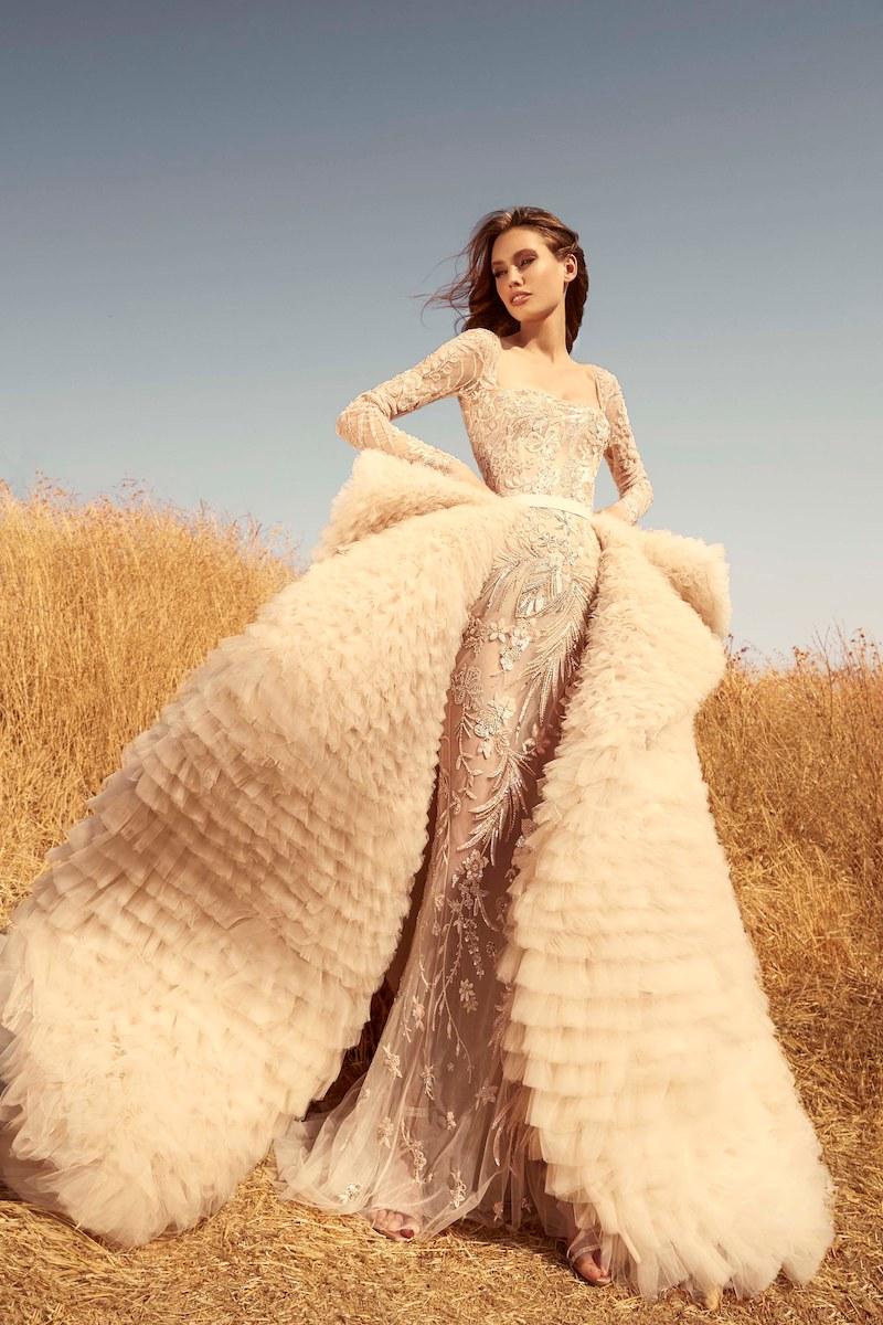 robe de mariée zuhair murad collection automne 2020 mille mariages n°3