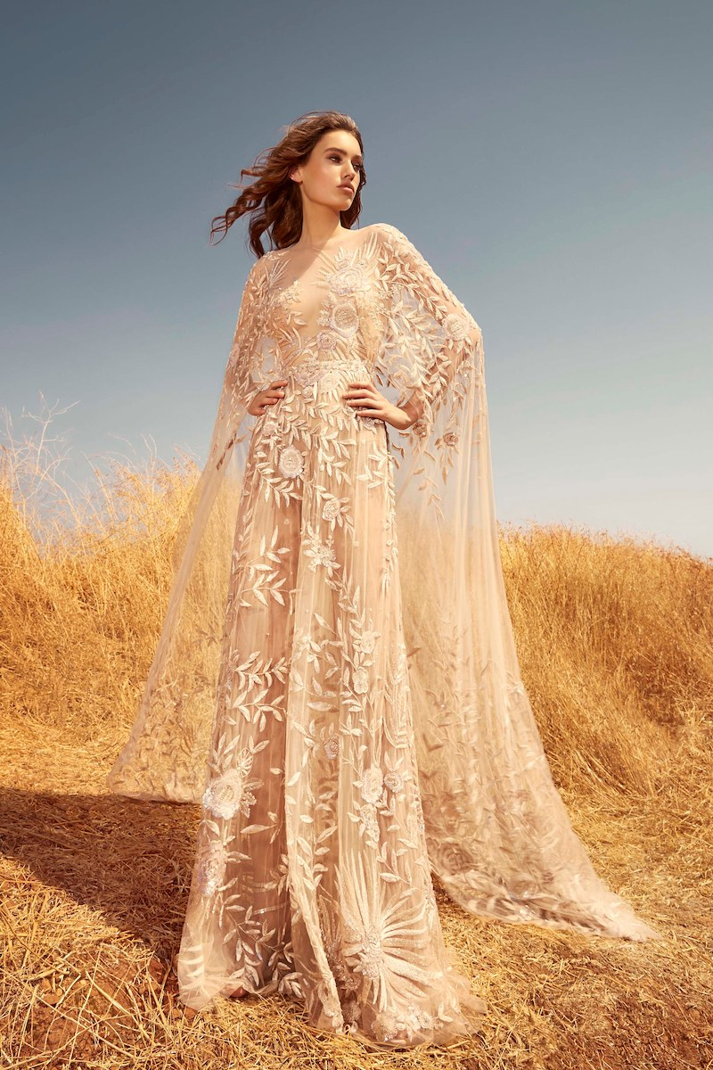 robe de mariée zuhair murad collection automne 2020 mille mariages n°4