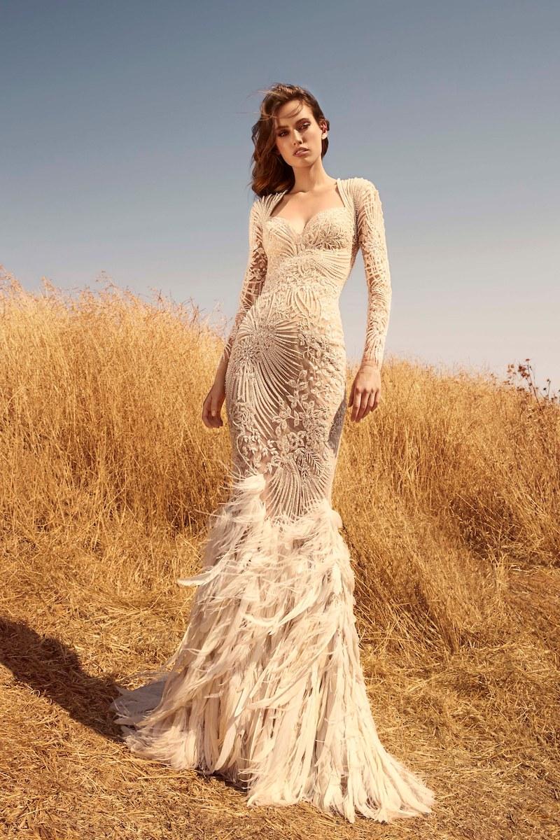 robe de mariée zuhair murad collection automne 2020 mille mariages n°5