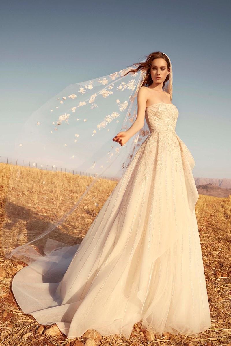 robe de mariée zuhair murad collection automne 2020 mille mariages n°7