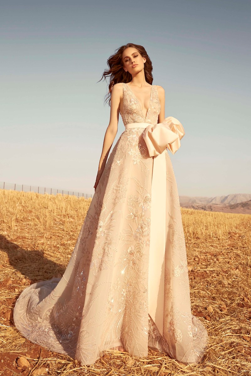 robe de mariée zuhair murad collection automne 2020 mille mariages n°8
