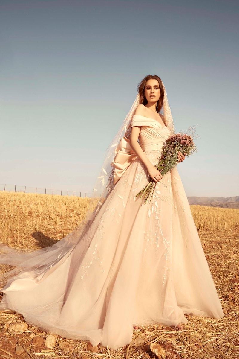 robe de mariée zuhair murad collection automne 2020 mille mariages n°9