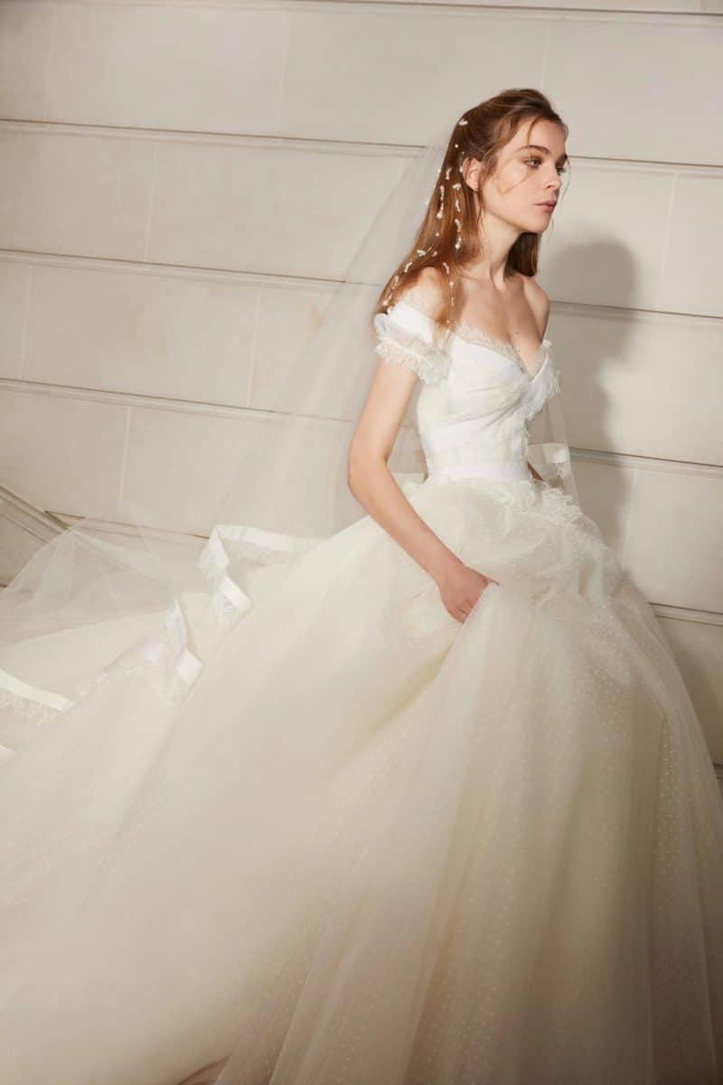 robe de mariée princesse Elie Saab pour le bal de Vienne collection mariage Mille Mariages robe n°1