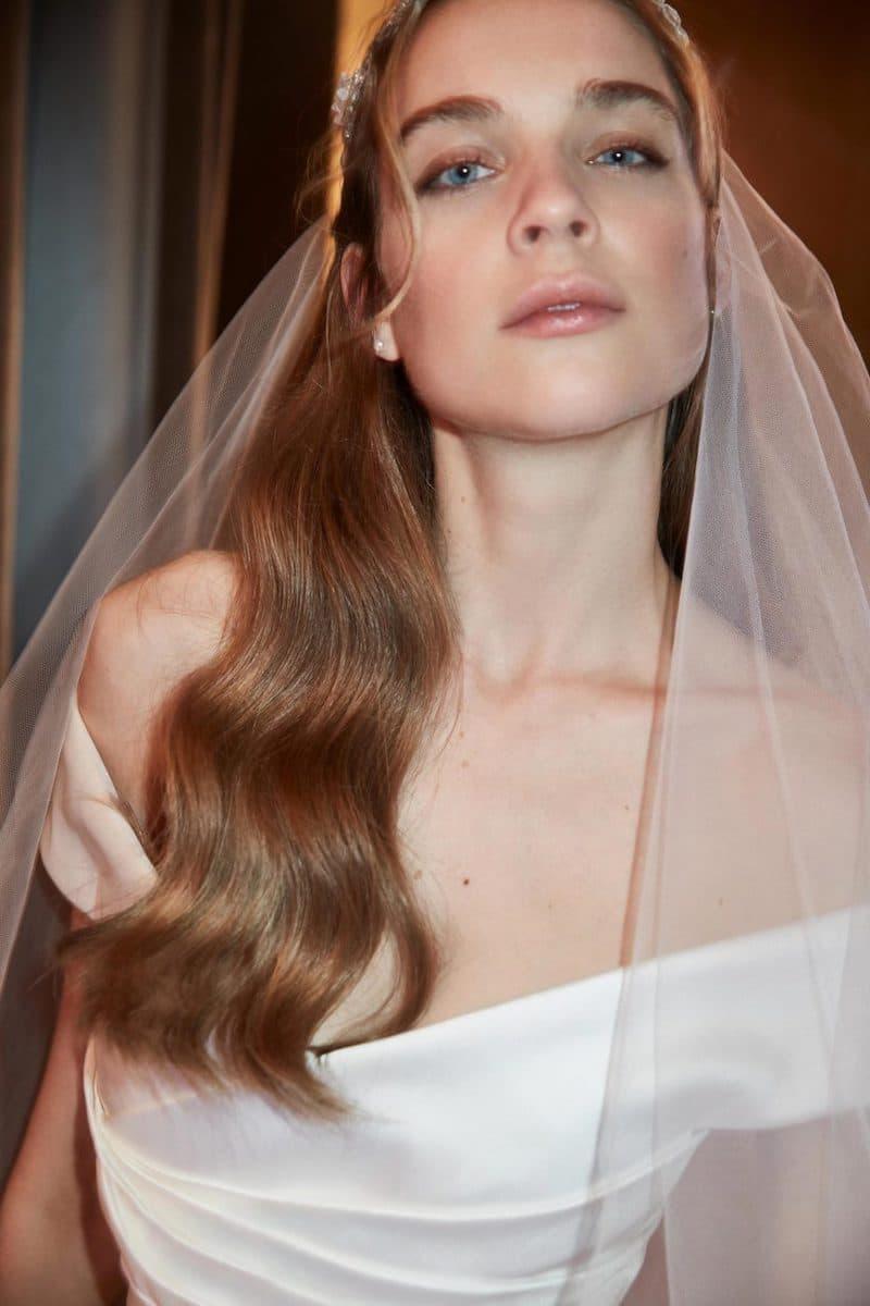 robe de mariée princesse Elie Saab pour le bal de Vienne collection mariage Mille Mariages robe n°11 portrait