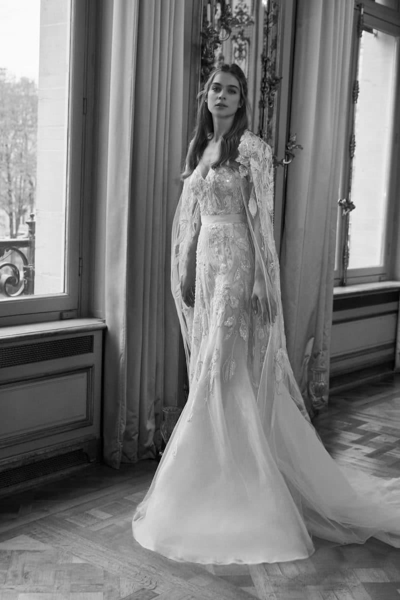 robe de mariée princesse Elie Saab pour le bal de Vienne collection mariage Mille Mariages robe n°12