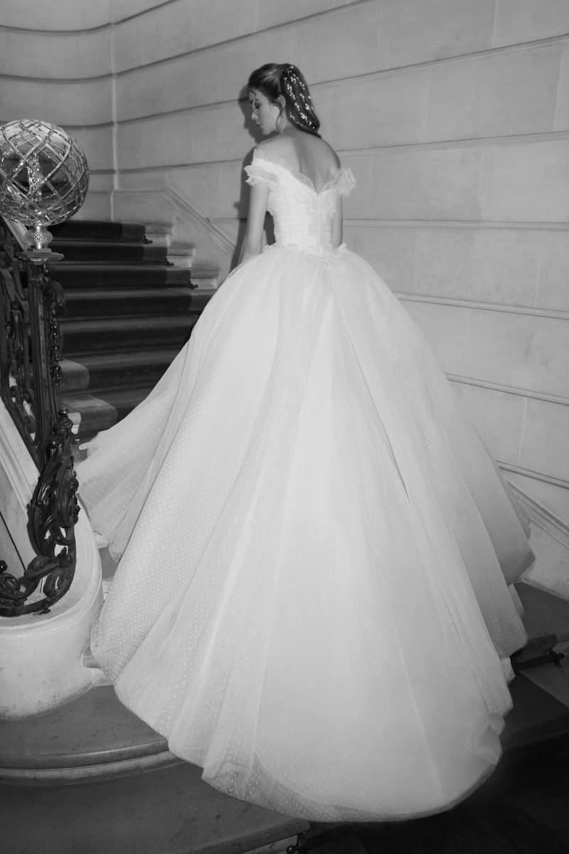 robe de mariée princesse Elie Saab pour le bal de Vienne collection mariage Mille Mariages robe n°13