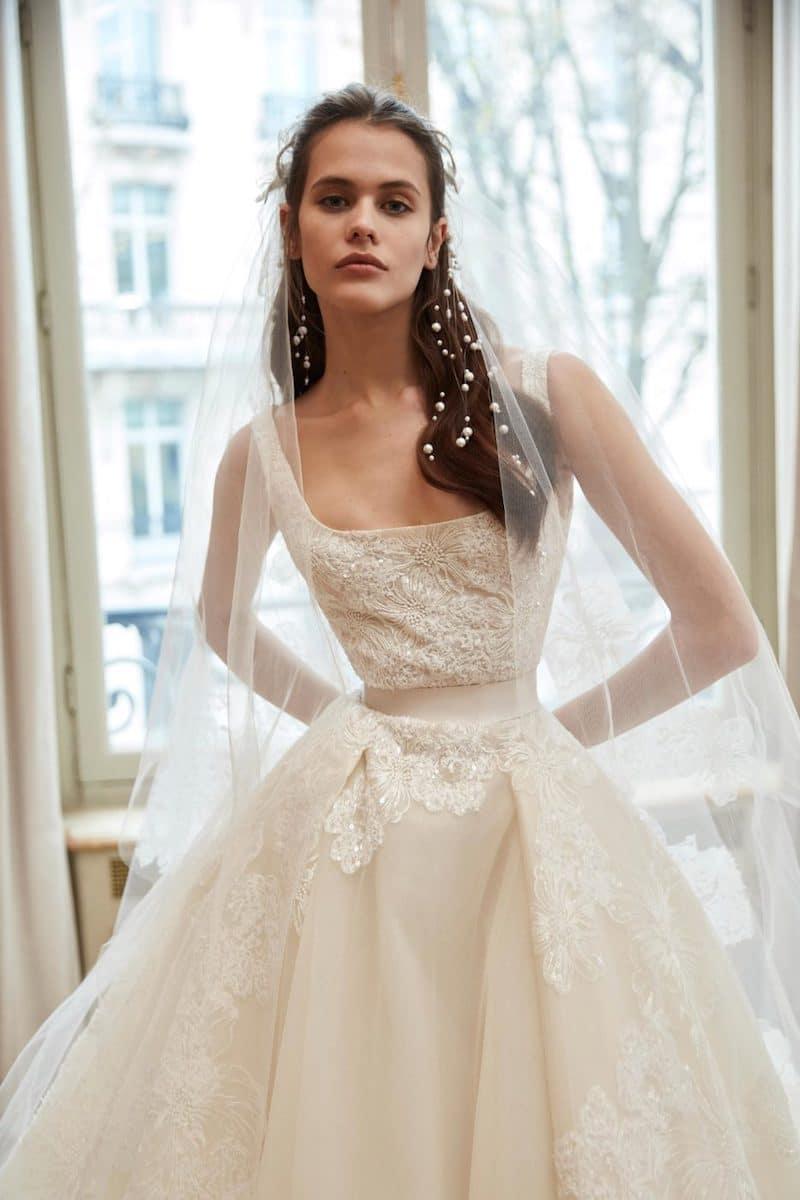 robe de mariée princesse Elie Saab pour le bal de Vienne collection mariage Mille Mariages robe n°14
