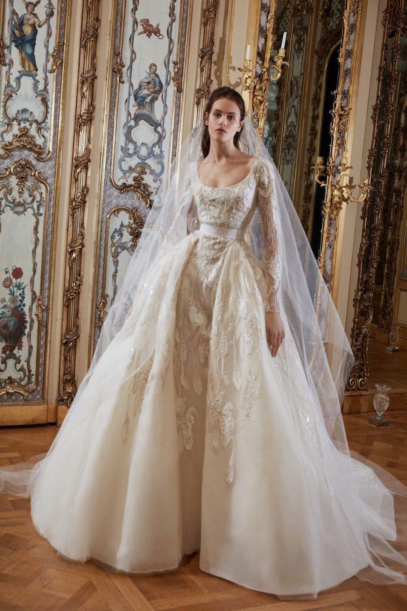 robe de mariée princesse Elie Saab pour le bal de Vienne collection mariage Mille Mariages robe n°18 sissi impératrice