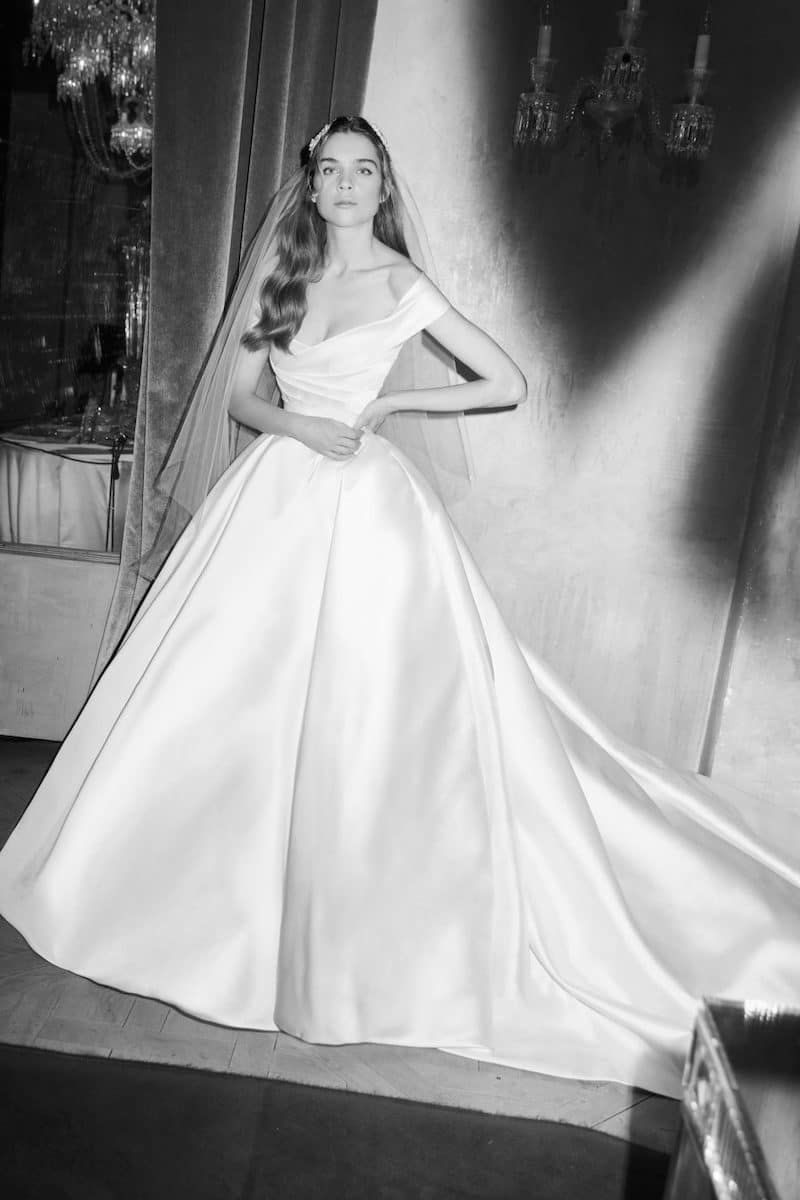 robe de mariée princesse Elie Saab pour le bal de Vienne collection mariage Mille Mariages robe n°2