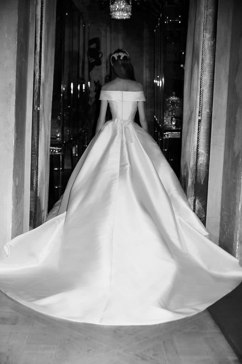 robe de mariée princesse Elie Saab pour le bal de Vienne collection mariage Mille Mariages robe n°21 princesse kelly