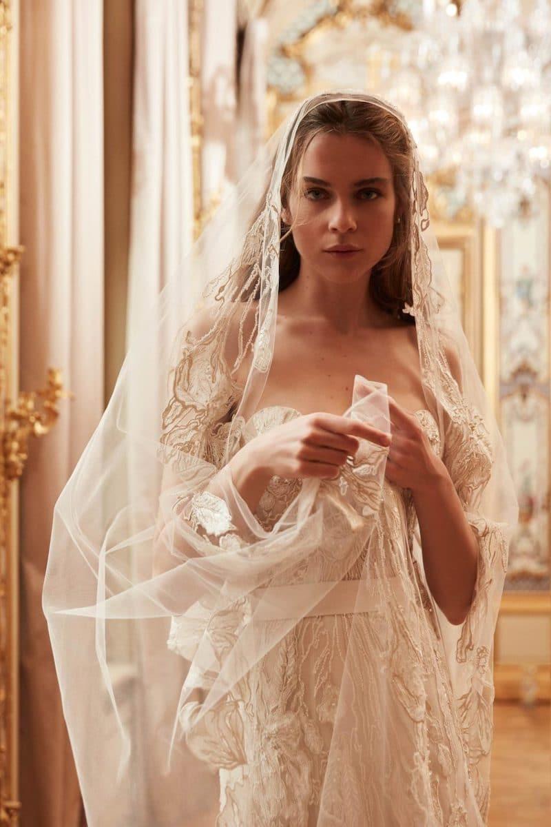 robe de mariée princesse Elie Saab pour le bal de Vienne collection mariage Mille Mariages robe n°6