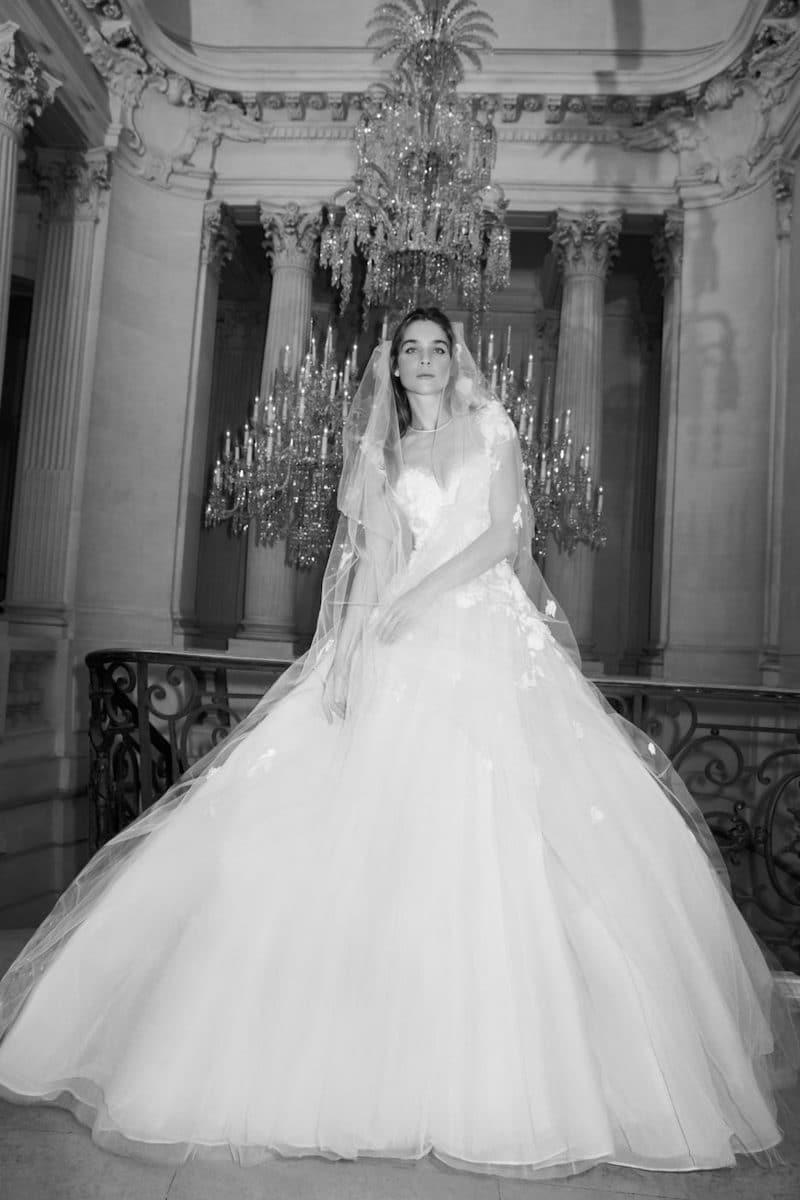 robe de mariée princesse Elie Saab pour le bal de Vienne collection mariage Mille Mariages robe n°7
