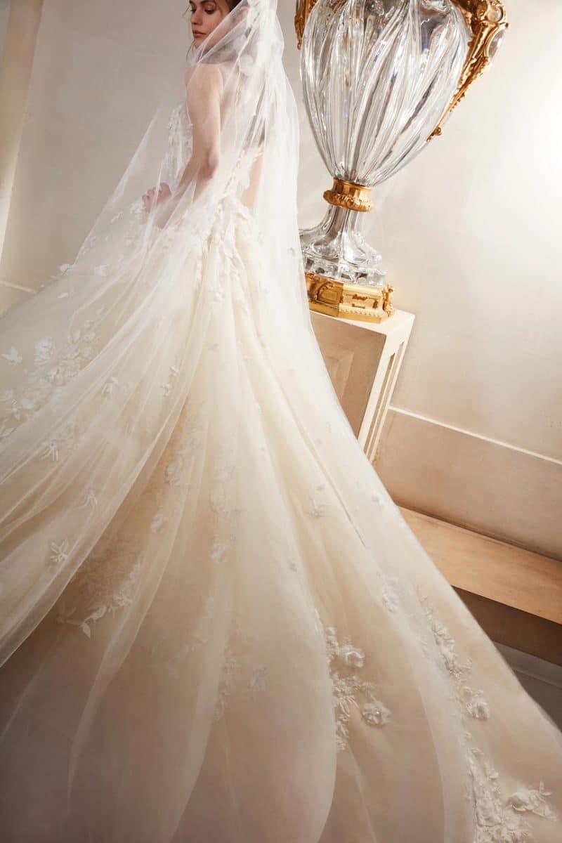 robe de mariée princesse Elie Saab pour le bal de Vienne collection mariage Mille Mariages robe n°8