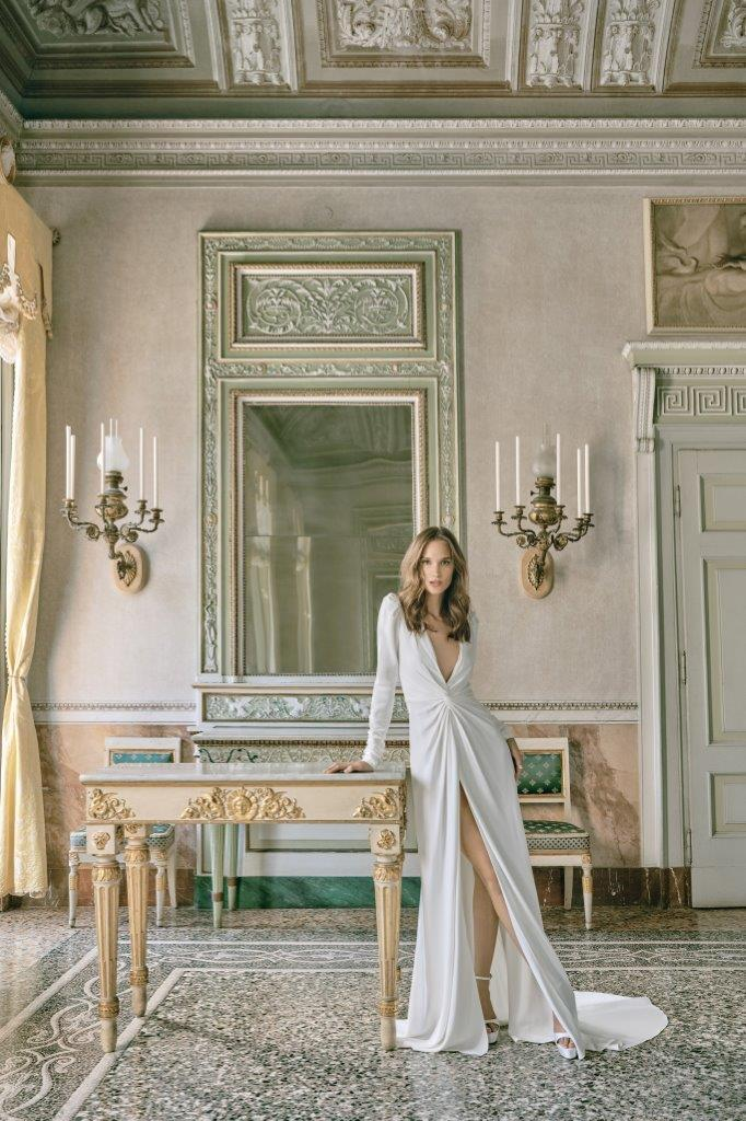 robe de mariée Monique Lhuillier collection mariage automne 2020 pour mille mariages robe n°11