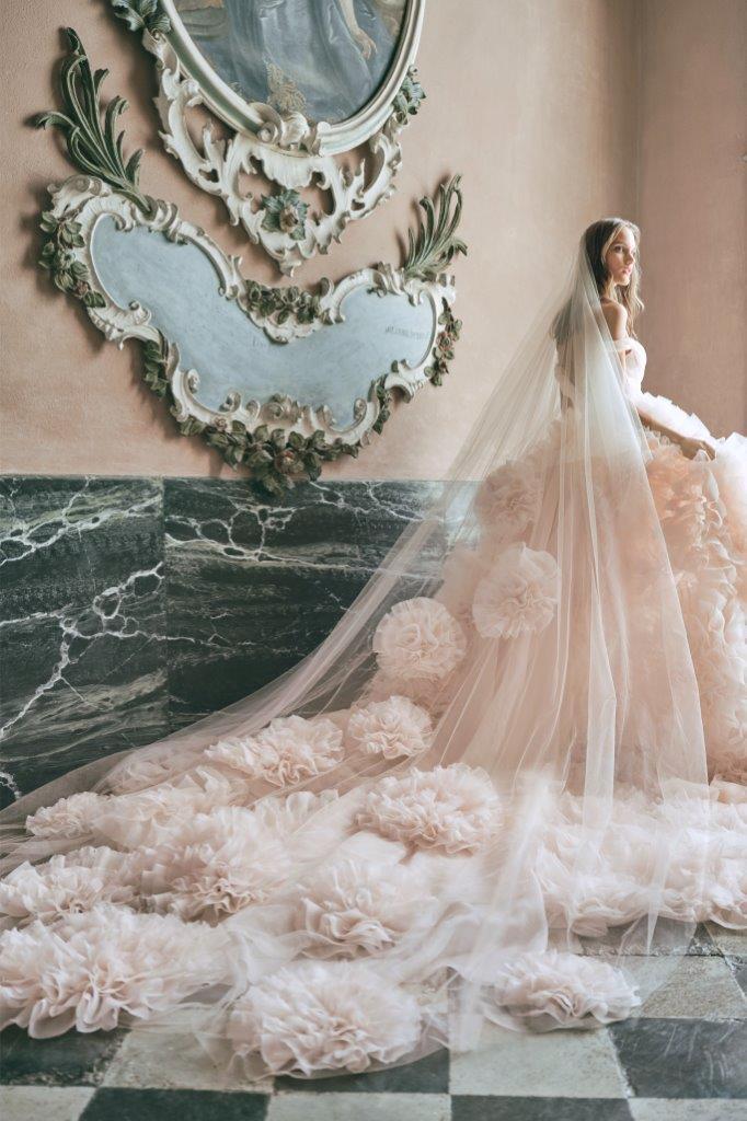 robe de mariée Monique Lhuillier collection mariage automne 2020 pour mille mariages robe n°12