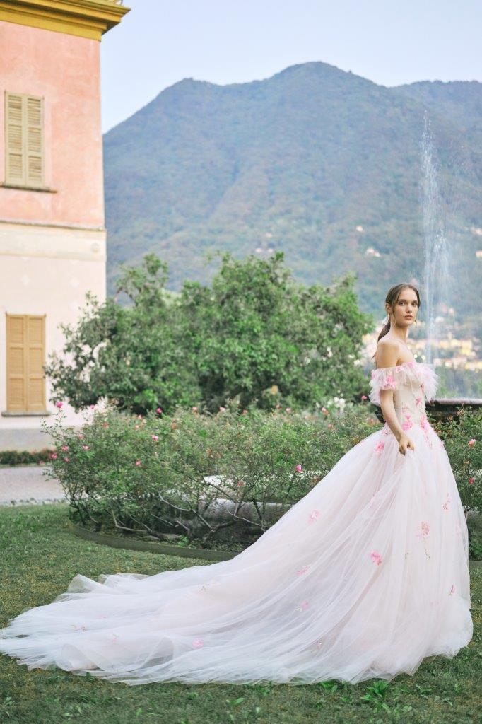 robe de mariée Monique Lhuillier collection mariage automne 2020 pour mille mariages robe n°13