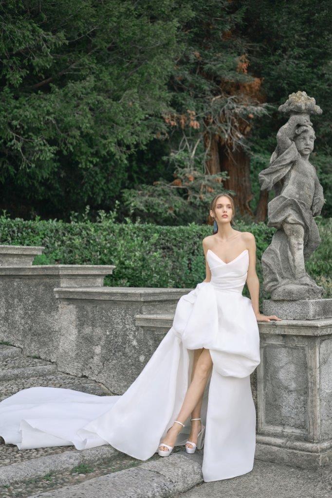 robe de mariée Monique Lhuillier collection mariage automne 2020 pour mille mariages robe n°14