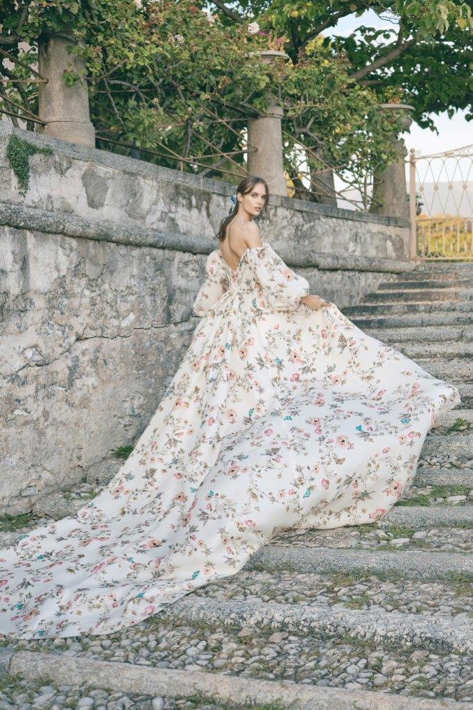 robe de mariée Monique Lhuillier collection mariage automne 2020 pour mille mariages robe n°16