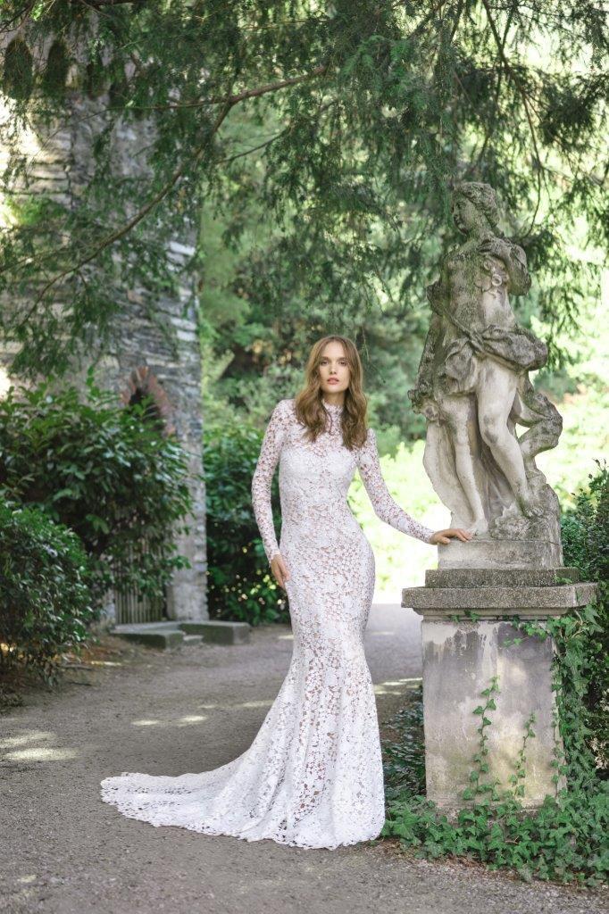 robe de mariée Monique Lhuillier collection mariage automne 2020 pour mille mariages robe n°3