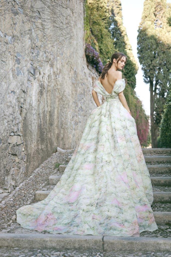 robe de mariée Monique Lhuillier collection mariage automne 2020 pour mille mariages robe n°4