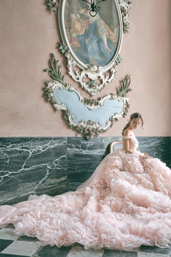 robe de mariée Monique Lhuillier collection mariage automne 2020 pour mille mariages robe n°7