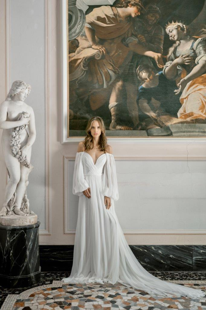 robe de mariée Monique Lhuillier collection mariage automne 2020 pour mille mariages robe n°9
