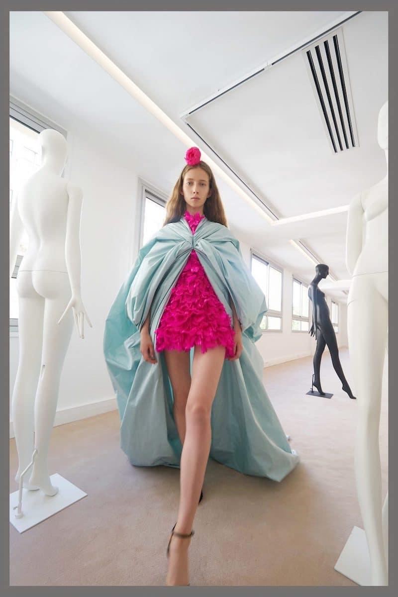 robe de mariée du soir de cocktail Giambattista Valli haute couture collection automne 2019 pour Mille Mariages robe n°13