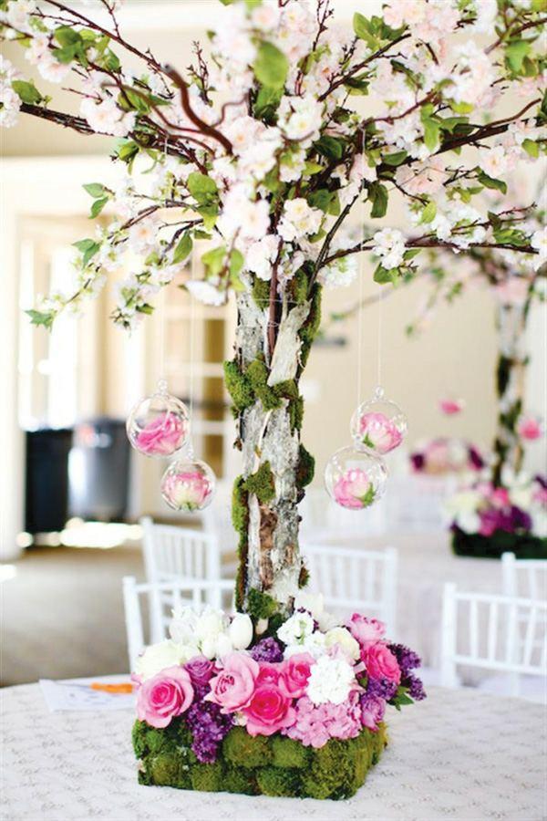 centre-de-table-floral-intéressant